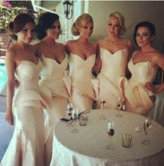 WOW~glam bridesmaids