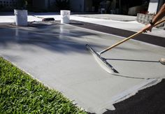 home repairs,home maintenance,home remodeling,home renovation Concrete Driveways, Concrete Floors, Walkways, Diy Concrete, How To Resurface Concrete, Concrete Cover, Concrete Sealer, Cement Patio, Concrete Steps