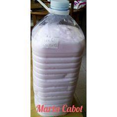cocinando fit: jabon liquido lavadora casero