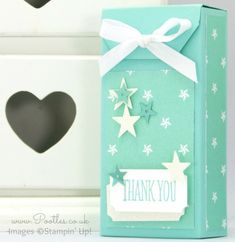 Stampin' Up! Demonstrator Pootles - Tag Topper Box Tutorial Maritime   Gift Box 13 Anything Directions done.  :)