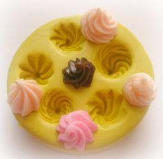 Silicone Molds Cupcake Frosting Silicone Mold Miniature Sweets Jewelry Mold op Etsy, $9.72