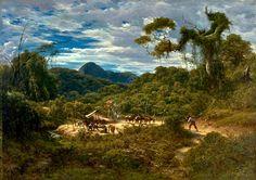 Paisagem nos Arredores do Rio, 1874 - Henri Nicolas Vinet
