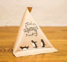 Penguin candy kraft bag by Nolfy's Gallery