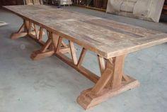 Lange Franse tafel