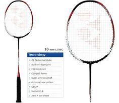 Yonex ARCSABER i-SLASH Badminton Racket, Tennis Racket