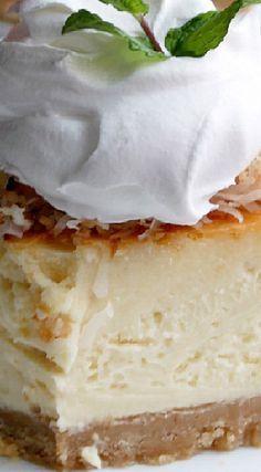 Coconut Cream Pie Cheesecake