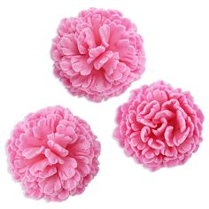 Pink Carnation Gum Paste Flowers - Layer Cake Shop