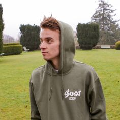 Khaki Hoodie by Zoe and Joe Sugg! Just bought it, and I'm in love with this hoodie!