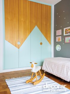 Adorable Kids Room Mountain Closet