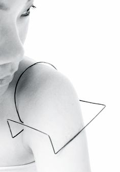 Dorry Hsu | Tao series | Shoulder piece, 2012
