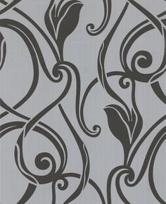 Muse : Black & Silver Wallpaper from www.grahambrown.com