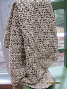 Ravelry: Pine Forest Baby Blanket by Ingrid Aartun Bøe - free pattern