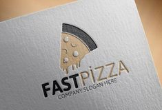 Fast Pizza Logo by Josuf Media on @creativemarket