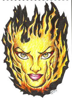 fireface Mix Media, Lion Sculpture, Paintings, Ink, Statue, Medium, Drawings, Paint, Painting Art