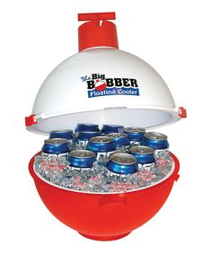 Lol! This is great gift idea! Byers' The Big Bobber Floating Cooler