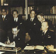 Pacto Anti-komintern Alemania-Japón 1936 En 1939 entra España.