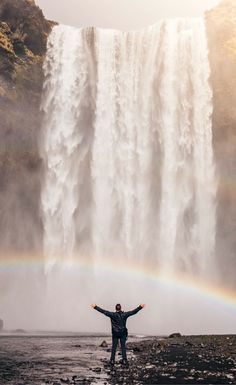 The Skógafoss waterfall is one of the biggest and most popular in the country…