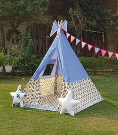 Kids Tents Teepee Party, Kids Teepee Tent, Play Tents, Teepees, Tent House For Kids, House Tent, Viking Tent, Shark Pillow, Baby Tent