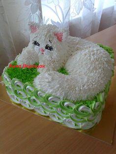Фотография Birthday Cake For Cat, Birthday Parties, Pineapple Margarita, Character Cakes, Wilton Cakes, Specialty Cakes, Cookie Designs, Diy Cake, Kids Corner
