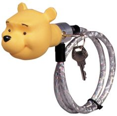 This bike lock in a trendy Winnie the Pooh design is not just practical but also decorates the bike at the same time. http://www.mytoys.com/Stamp-WINNIE-Bike-Lock-60-cm/Bike-Locks/Bikes-Co/KID/com-mt.sp.ca01.05.11/1786655?trackingMessage=