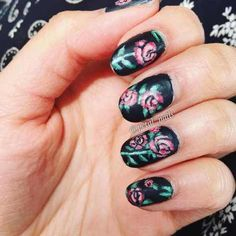 black colored summer nails 2016 - style you 7