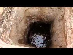 Rapaz observava poço de água e fica chocado com o que viu lá dentro!