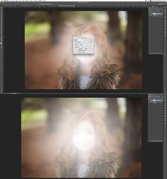 HOW I EDIT TO GET THE GLOW OF A REFLECTOR IN PHOTOSHOP white gradient layer in Photoshop by Winnie Bruce
