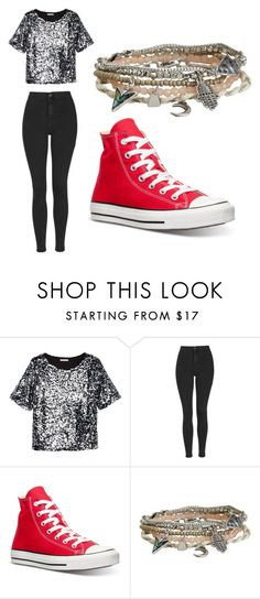 """""""Untitled #218"""" by sierrapalmer10 on Polyvore featuring H&M, Topshop, Converse, Aéropostale, women's clothing, women's fashion, women, female, woman and misses"""
