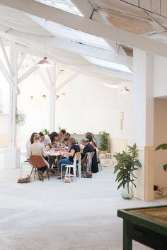 Les Beaux Ateliers x Julie Robert  Rue Piétonne. © Olivia Thébaut