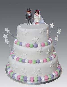 figurine mariage gateaux on mariage playmobil and wedding cake toppers