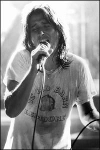 Steve Perry from Journey...I used to love Journey when he was the front guy!