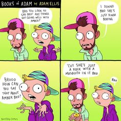 Books of Adam. Adam Ellis (2015)   https://www.facebook.com/booksofadam