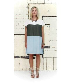 Lily Pad Block Panel Dress | Women's Fashion | Dresses, Tops and more | Et La Mer