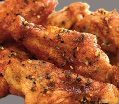 This recipe for honey chicken wings with garlic & herb is so easy to make. Just combine the wings with honey & McCormick garlic & herb seasoning mi