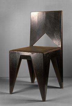Vlastislav Hofmann, Cubist Chair, 1911.