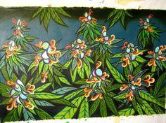 Cannabis garden...