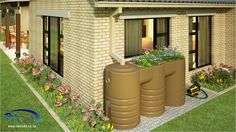 The latest development from Urban Rain Systems (Pty) Ltd and the first of its kind. The RainCell™ Planter tank incorporates a large planter into the roof of a rainwater tank.