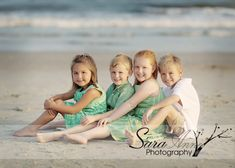 Pose for the kids @ the beach.