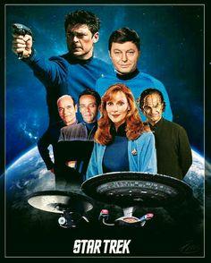 The Doctors of Star Trek Star Trek Enterprise, Star Trek Voyager, Star Trek Show, Star Trek Series, Star Wars, Star Trek Beyond, Star Trek Original, Leonard Nimoy, Spock