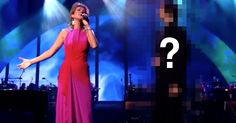 """Celine Dion Was Singing """"The Prayer"""" When She Got Joined By A Surprise Guest!"""