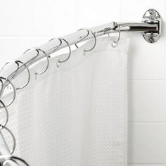 Sweet... Curved Shower Curtain Rod... This Is Going To Be