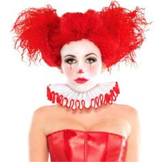 Ruffled Clown Collar - Party City ..lets paint your hair a diff color @viscera wasdumb !!!