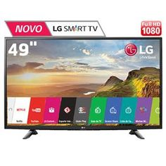 "[BAHIAMOB]LG Smart Tv Led 49"" Full Hd Lg 49lh5700 - R$2185,05"