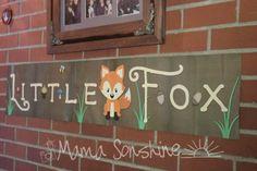 Little Fox Baby Shower