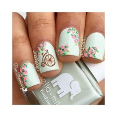 The Best Manicure Inspiration For Fall ❤ liked on Polyvore featuring beauty products and nail care