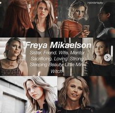 I've no idea who she is! Only at the end of but why wasn't she in TVD? Vampire Diaries The Originals, The Originals Tv, Vampire Diaries Cast, Hayley And Klaus, Vampire Look, Ian Somerholder, Kol Mikaelson, The Mikaelsons, Original Vampire