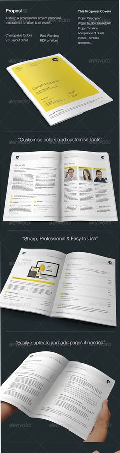 Proposal Template Proposal templates - microsoft office proposal templates
