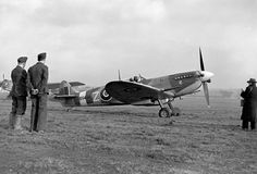 Spitfire BS456 1X in Northolt on 22 August 1943. This is the Polish pilot Flight Lieutenant Lew Kurylowicz hunter who was killed by a Focke-Wulf 190 near Rouen after himself down another FW-190. It was recovered unharmed after five days at sea in his dinghy:*BFD*