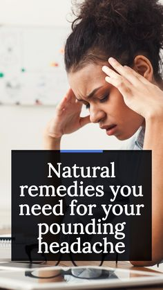 With all the stress and anxiety of everyday life, headaches sometimes come with the territory. But the good news is that, instead of having to pop ibuprofen every four hours to get by, you can use a few of these simple, natural remedies to ease the pain. Before you reach for the Advil, try these ways to relieve your headache. #headache #migraine #health #healthtips #healthy #remedies #naturalremedies Headache Symptoms, Anti Inflammatory Herbs, Vitamin D Supplement, Muscle Contraction, Tension Headache, Migraine, Stress And Anxiety, How To Stay Healthy, Natural Remedies