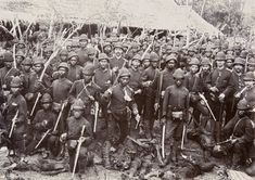 Dutch and Indonesian colonial troops stand over the bodies of their enemies, date unknown [[MORE]] Although I couldn't find a source, I think this photo was taken during the Aceh War, meaning that it could be dated to the Dutch East Indies, Dutch Colonial, Action Poses, Historical Pictures, Founding Fathers, Armed Forces, Old Pictures, Troops, Netherlands